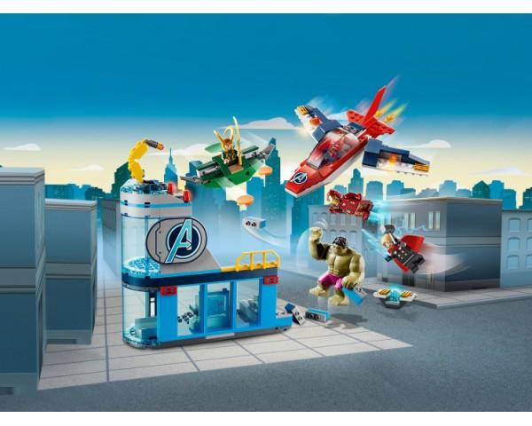 76152 Lego Super Heroes Мстители: гнев Локи