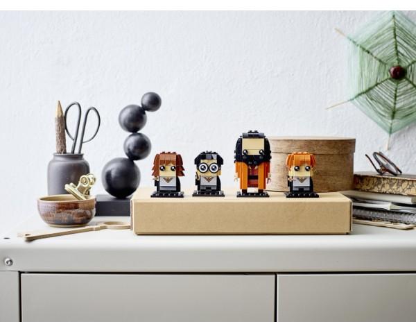 Конструктор LEGO BrickHeadz 40495 Гарри, Гермиона, Рон и Хагрид