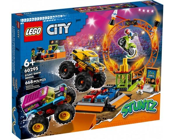 Конструктор LEGO City 60295 Арена для шоу каскадёров