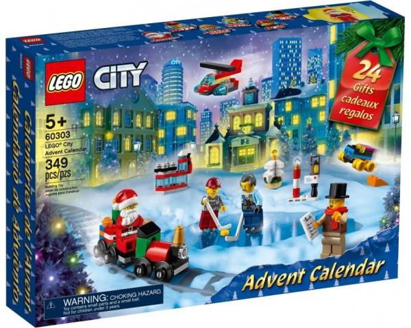 Конструктор LEGO City 60303 Адвент календарь LEGO City