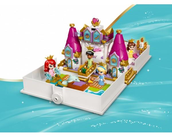 Конструктор LEGO Disney Princess 43193 Книга сказочных приключений Ариэль, Белль, Золушки и Тианы