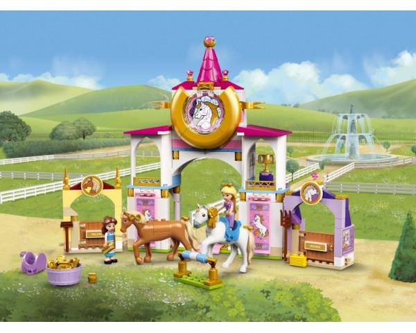 Конструктор LEGO Disney Princess 43195 Королевская конюшня Белль и Рапунцель