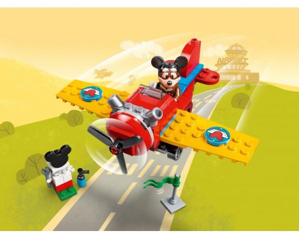 Конструктор LEGO Disney 10772 Винтовой самолёт Микки