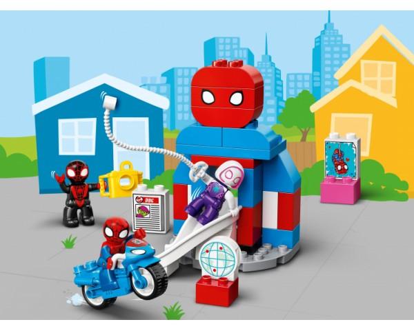 Конструктор LEGO Duplo 10940 Штаб-квартира Человека-паука