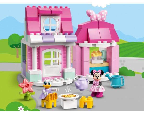 Конструктор LEGO Duplo 10942 Дом и кафе Минни