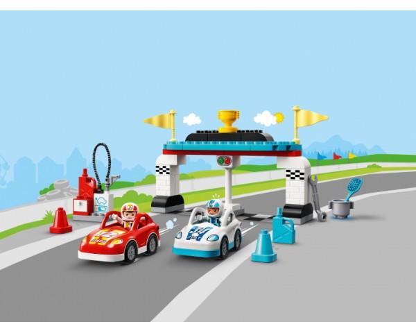 Конструктор LEGO Duplo 10947 Гоночные машины