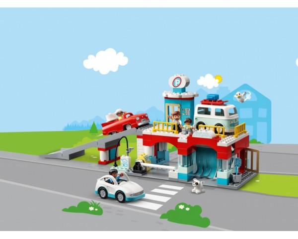 Конструктор LEGO Duplo 10948 Гараж и автомойка