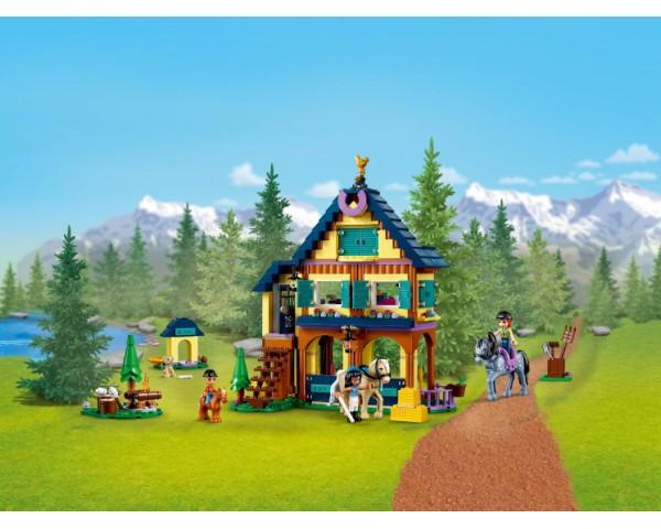 Конструктор LEGO Friends 41683 Лесной клуб верховой езды