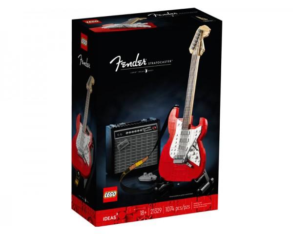Конструктор LEGO Ideas 21329 Fender Stratocaster
