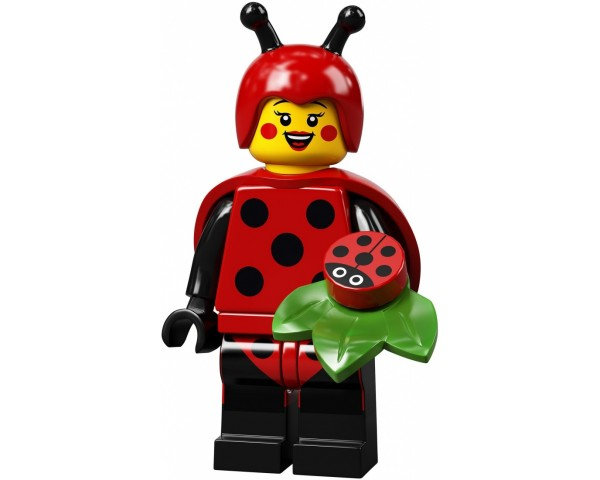 LEGO Minifigures 71029 Девочка - Божья коровка