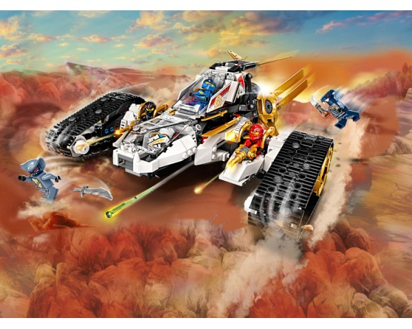Конструктор LEGO Ninjago 71739 Сверхзвуковой самолёт