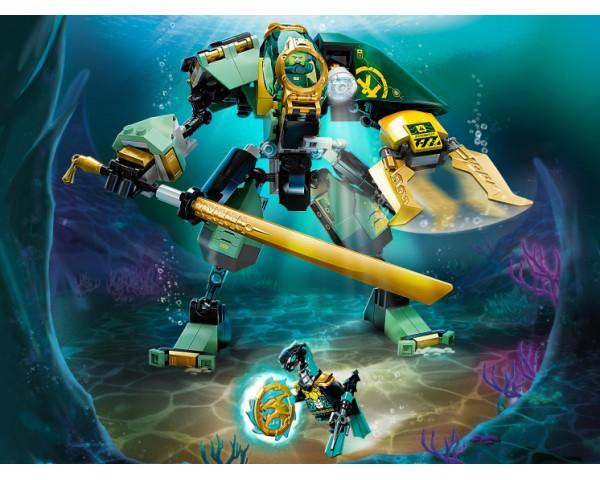 Конструктор LEGO Ninjago 71750 Водный робот Ллойда