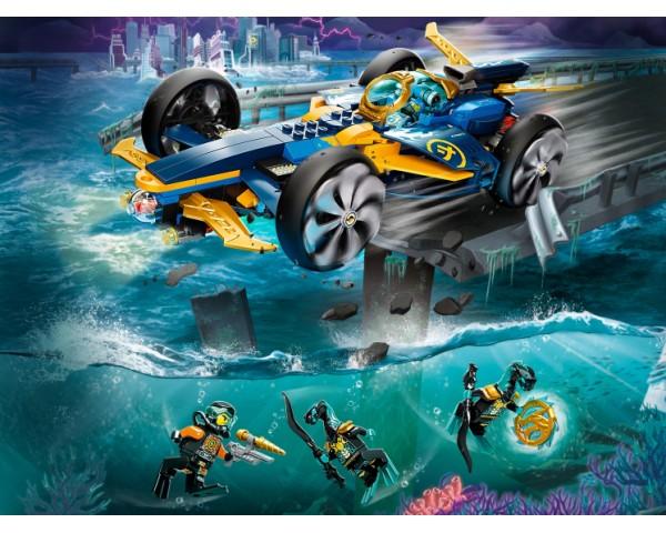 Конструктор LEGO Ninjago 71752 Спидер-амфибия ниндзя