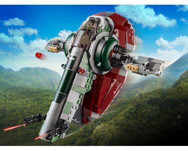 Конструктор LEGO Star Wars 75312 Звездолет Бобы Фетта