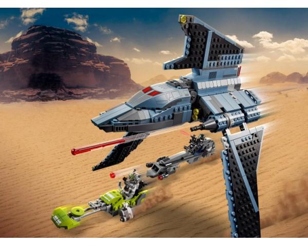 Конструктор LEGO Star Wars 75314 Штурмовой шаттл Бракованной Партии