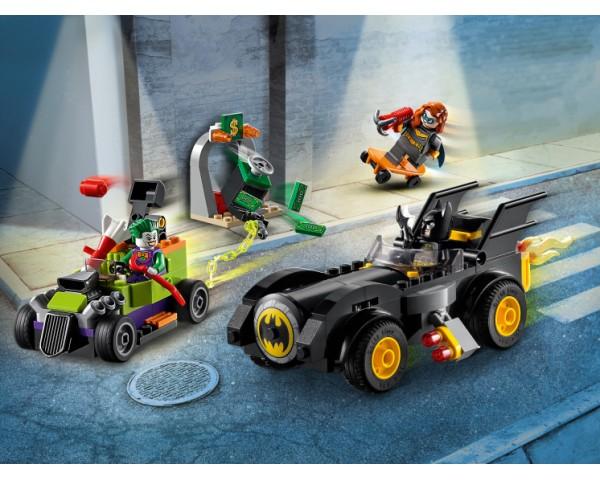 Конструктор LEGO Super Heroes 76180 Бэтмен против Джокера: погоня на Бэтмобиле