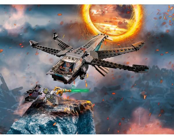 Конструктор LEGO Super Heroes 76186 Корабль Чёрной Пантеры «Дракон»