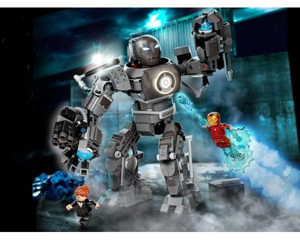 Конструктор LEGO Super Heroes 76190 Железный человек: схватка с Железным Торговцем