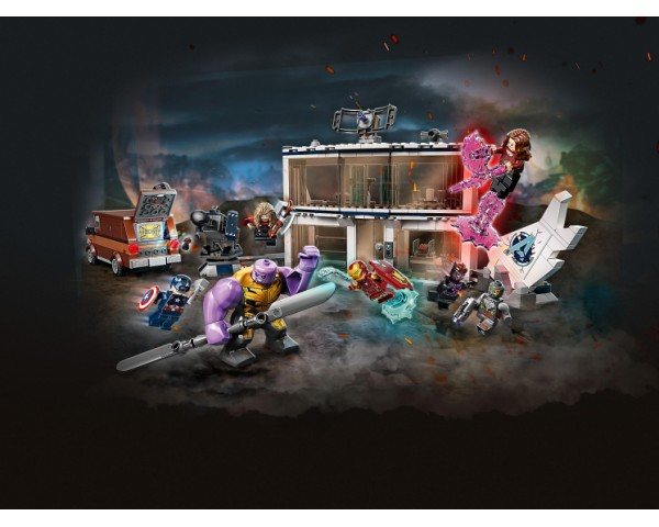 Конструктор LEGO Super Heroes 76192 «Мстители: Финал» — решающая битва
