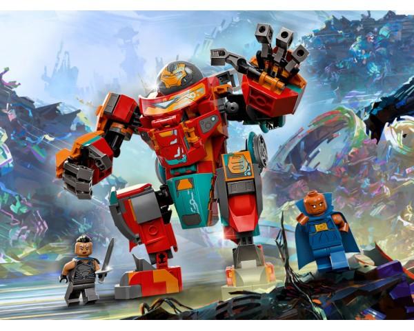 Конструктор LEGO Super Heroes 76194 Железный Человек Тони Старка на Сакааре