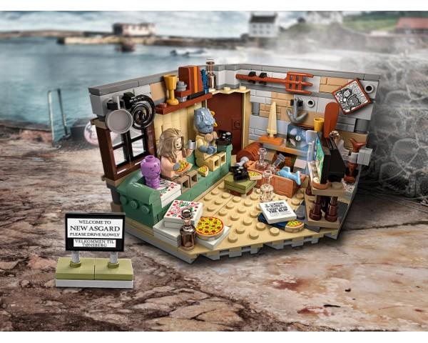 Конструктор LEGO Super Heroes 76200 Новый Асгард Бро Тора