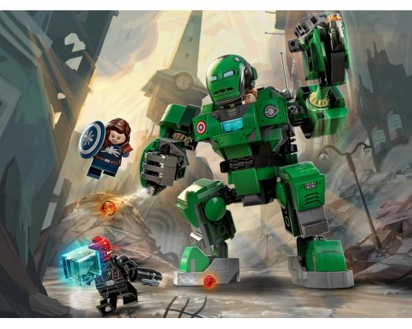 Конструктор LEGO Super Heroes 76201 Капитан Картер и штурмовик «Гидры»