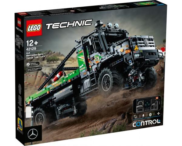 Конструктор LEGO Technic 42129 Полноприводной грузовик-внедорожник Mercedes-Benz Zetros