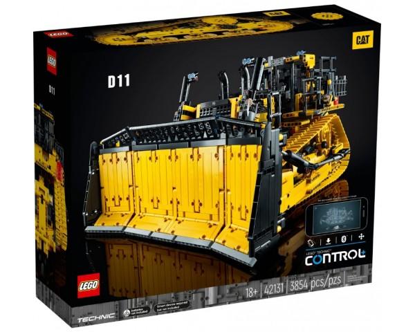 Конструктор LEGO Technic 42131 Бульдозер Cat D11 на пульте управления