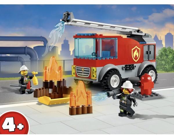 Конструктор LEGO City 60280 Пожарная машина с лестницей