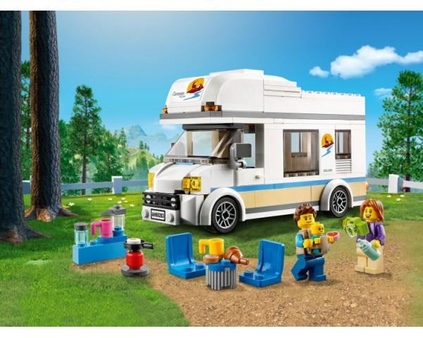 Конструктор LEGO City 60283 Отпуск в доме на колёсах