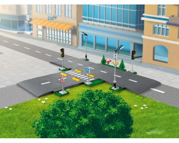 Конструктор LEGO City 60304 Дорожные пластины