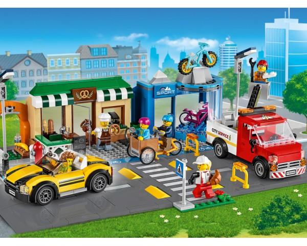60306 Lego City Торговая улица