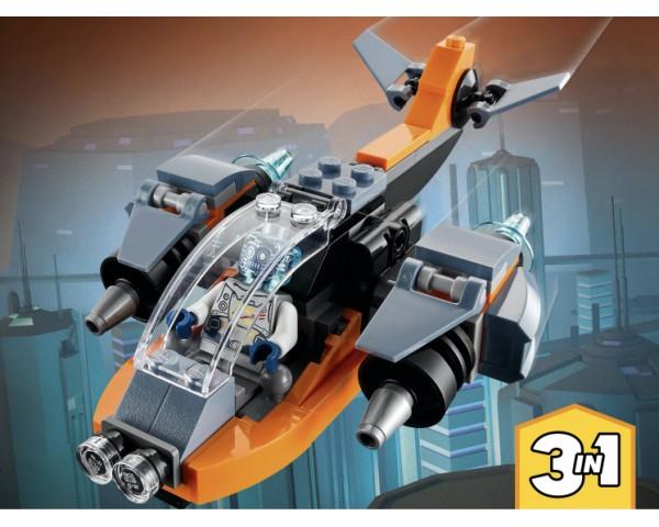 Конструктор LEGO Creator 31111 Кибердрон