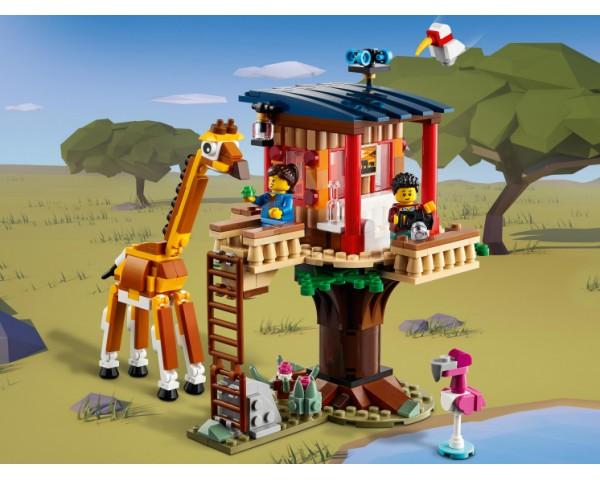 Конструктор LEGO Creator 31116 Домик на дереве для сафари