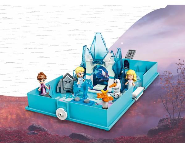 Конструктор LEGO Disney Princess 43189 Книга сказочных приключений Эльзы и Нока