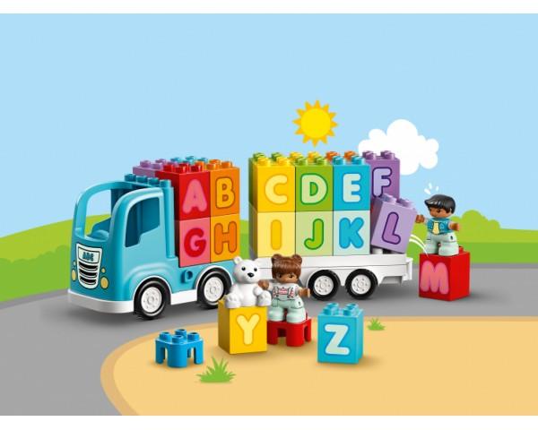 Конструктор LEGO Duplo 10915 Грузовик «Алфавит»