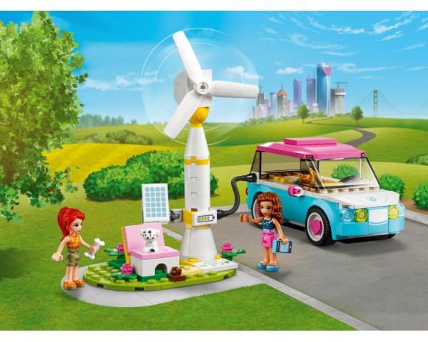 Конструктор LEGO Friends 41443 Электромобиль Оливии
