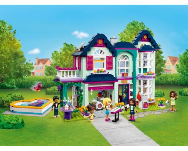 Конструктор LEGO Friends 41449 Дом семьи Андреа