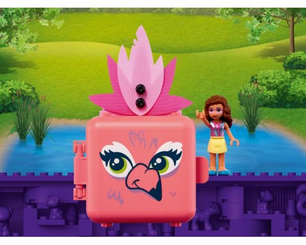 Конструктор LEGO Friends 41662 Кубик Оливии с фламинго