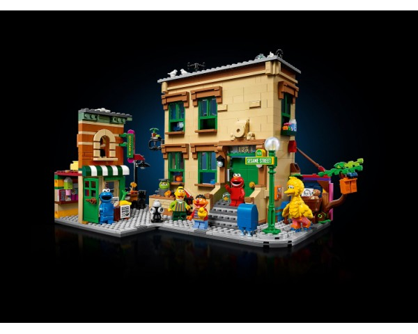 Конструктор LEGO Ideas 21324 Улица Сезам