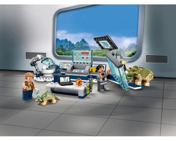 Конструктор LEGO Jurassic World 75939 Лаборатория доктора Ву: Побег детёнышей динозавра
