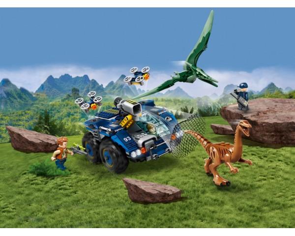 Конструктор LEGO Jurassic World 75940 Побег галлимима и птеранодона