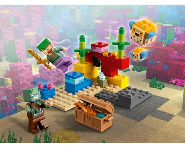 21164 Lego Minecraft Коралловый риф