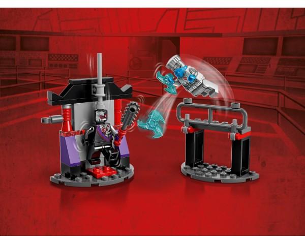 Конструктор LEGO Ninjago 71731 Легендарные битвы: Зейн против Ниндроида