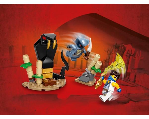 71732 Lego Ninjago Легендарные битвы: Джей против воина-Серпентина