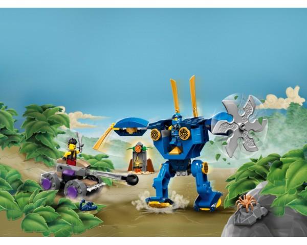 Конструктор LEGO Ninjago 71740 Электрический робот Джея