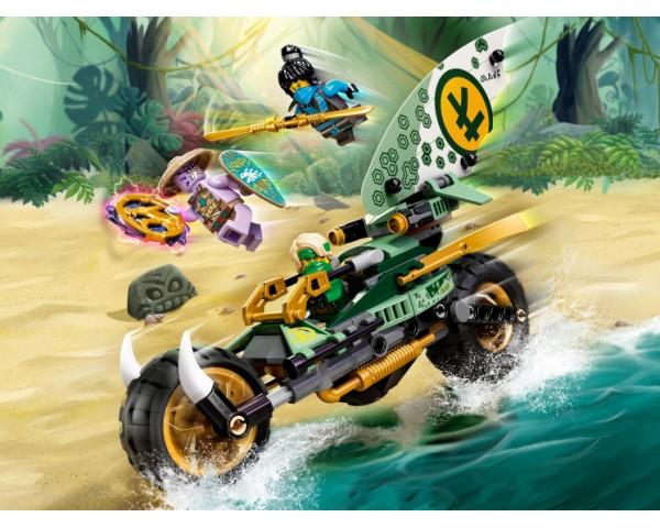 Конструктор LEGO Ninjago 71745 Мотоцикл Ллойда для джунглей
