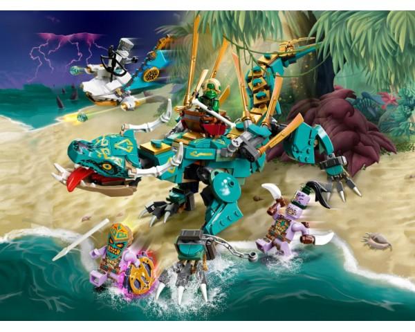 Конструктор LEGO Ninjago 71746 Дракон из джунглей