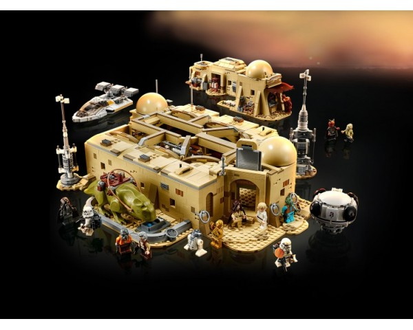 Конструктор LEGO Star Wars 75290 Кантина Мос-Эйсли