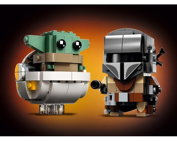 Конструктор LEGO Star Wars 75317 Мандалорец и малыш